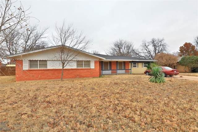 2626 Garfield Avenue, Abilene, TX 79601 (MLS #14232616) :: The Chad Smith Team
