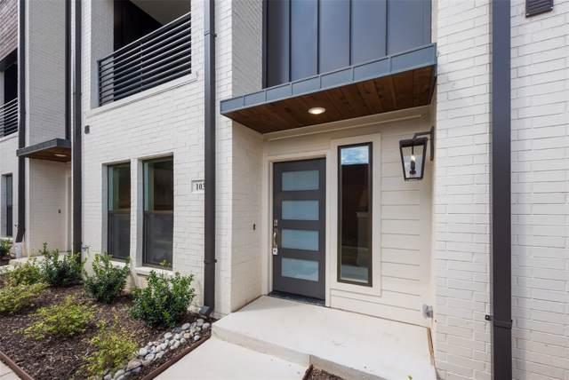 2737 Merrimac #103, Fort Worth, TX 76107 (MLS #14232623) :: The Hornburg Real Estate Group