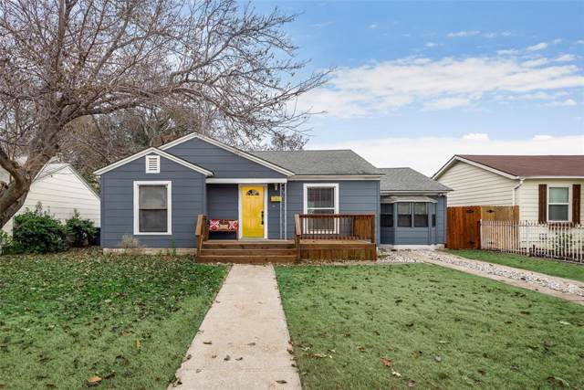 2806 Cherrywood Avenue, Dallas, TX 75235 (MLS #14232705) :: All Cities Realty
