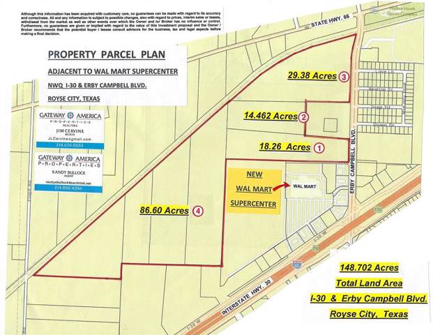 0000 S. Erby Campbell Blvd., Royse City, TX 75189 (MLS #14232710) :: The Mitchell Group