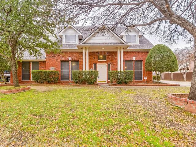 2012 Buffalo Bend Drive, Lewisville, TX 75067 (MLS #14232909) :: RE/MAX Town & Country