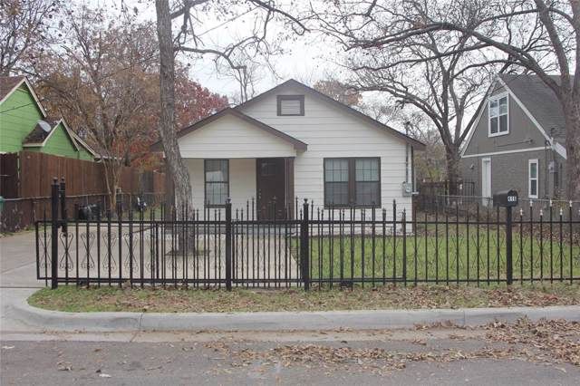 416 Sunnyside Avenue, Cockrell Hill, TX 75211 (MLS #14232921) :: Potts Realty Group