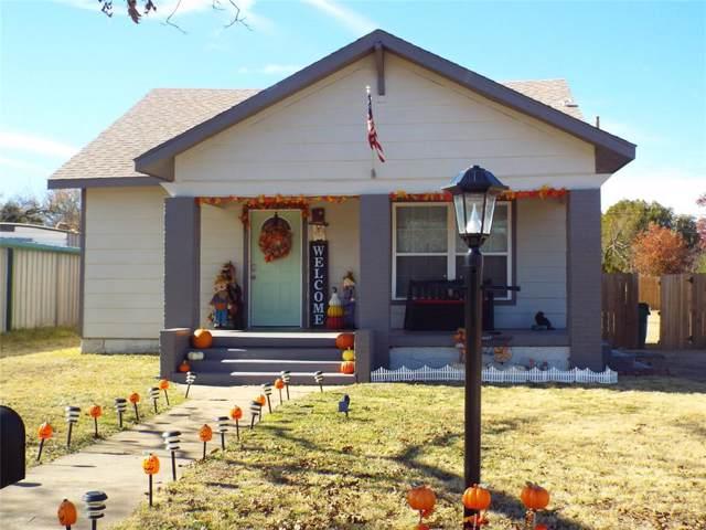 207 S Madera Street, Eastland, TX 76448 (MLS #14233036) :: Baldree Home Team