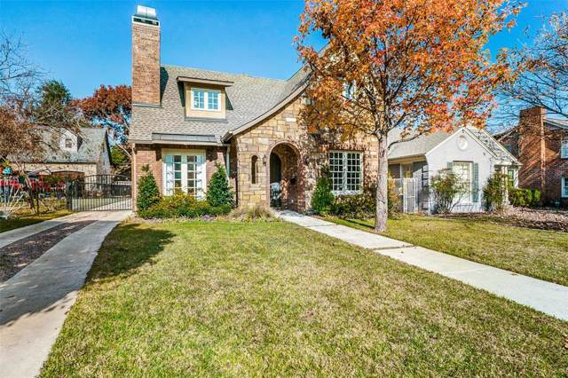 1921 Old Orchard Drive, Dallas, TX 75208 (MLS #14233039) :: RE/MAX Town & Country