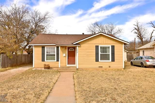2650 S 21st Street, Abilene, TX 79605 (MLS #14233070) :: The Good Home Team