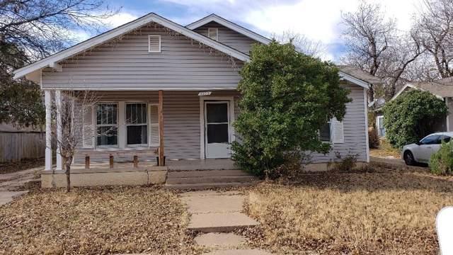 1250 Peach Street, Abilene, TX 79602 (MLS #14233213) :: Team Tiller