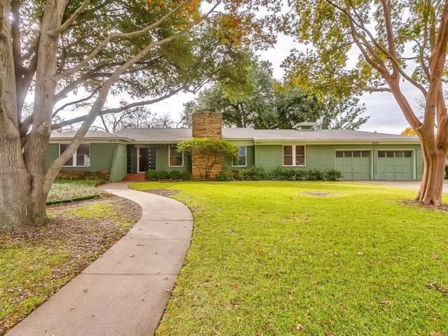 3833 South Drive, Fort Worth, TX 76109 (MLS #14233318) :: RE/MAX Town & Country