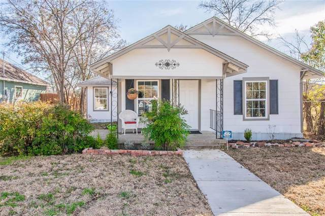 5421 Wellesley Avenue, Fort Worth, TX 76107 (MLS #14233330) :: Baldree Home Team