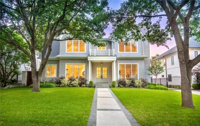 3520 Villanova Street, University Park, TX 75225 (MLS #14233344) :: Robbins Real Estate Group