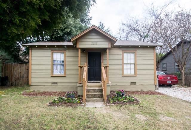 2516 N Elm Street, Denton, TX 76201 (MLS #14233346) :: Team Tiller