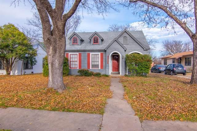 2504 Vincent Street, Brownwood, TX 76801 (MLS #14233422) :: Van Poole Properties Group