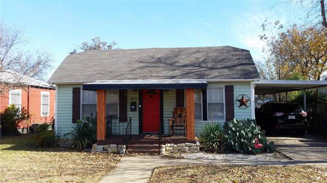3521 Ryan Avenue, Fort Worth, TX 76110 (MLS #14233438) :: RE/MAX Town & Country