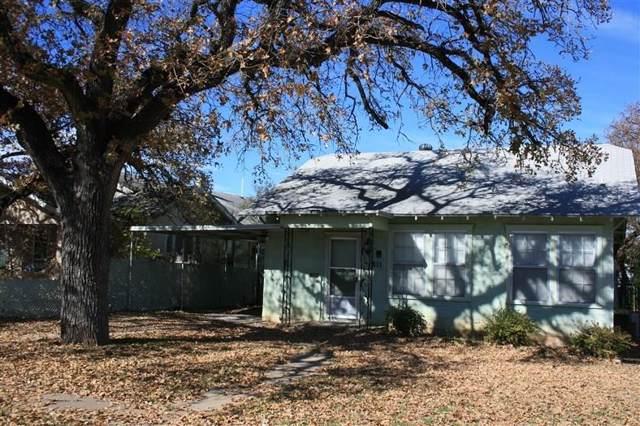 1811 Avenue D, Brownwood, TX  (MLS #14233444) :: Van Poole Properties Group