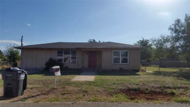 406 Runnels, Merkel, TX 79536 (MLS #14233559) :: The Good Home Team