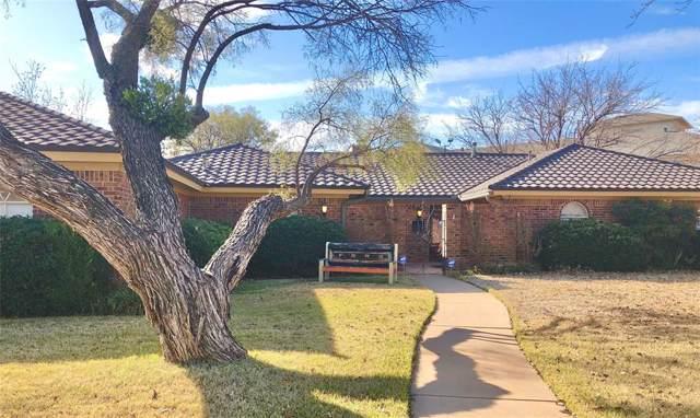 155 Hedges Road, Abilene, TX 79605 (MLS #14233567) :: The Tierny Jordan Network