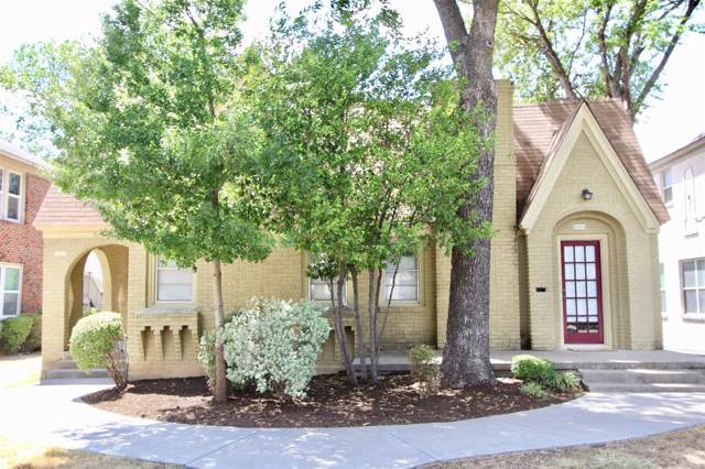 3312 S University Drive, Fort Worth, TX 76109 (MLS #14233633) :: RE/MAX Town & Country