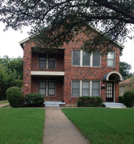 3316 S University Drive, Fort Worth, TX 76109 (MLS #14233635) :: RE/MAX Town & Country