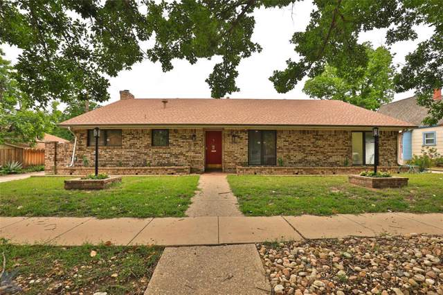 1929 S 13th Street, Abilene, TX 79602 (MLS #14233742) :: The Chad Smith Team