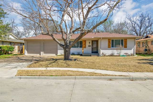 4116 Mackey Drive, North Richland Hills, TX 76180 (MLS #14233816) :: RE/MAX Town & Country