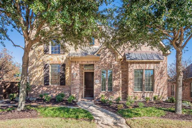 2150 Chambers Drive, Allen, TX 75013 (MLS #14233842) :: The Good Home Team