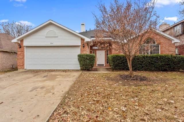 904 Wintercrest Court, Arlington, TX 76017 (MLS #14233993) :: The Rhodes Team