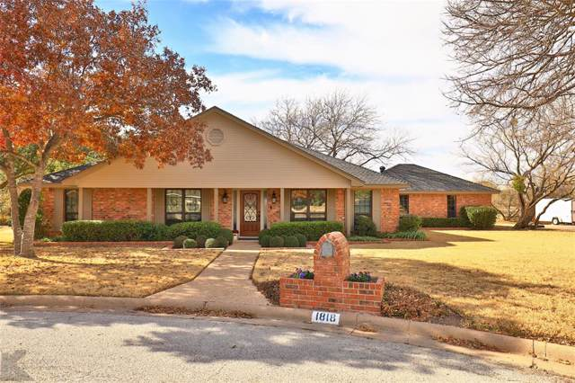 1818 Echo Court, Abilene, TX 79602 (MLS #14234033) :: Lynn Wilson with Keller Williams DFW/Southlake
