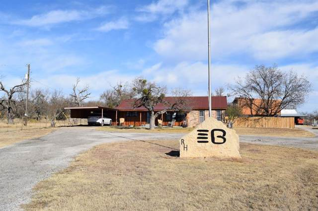 1624 Highway 153, Coleman, TX 76834 (MLS #14234051) :: Maegan Brest | Keller Williams Realty