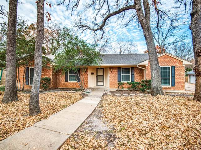 1013 Sleepy Hollow Drive S, Irving, TX 75061 (MLS #14234226) :: RE/MAX Town & Country