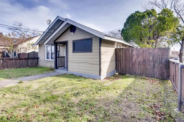 1230 S Montclair Avenue, Dallas, TX 75208 (MLS #14234348) :: RE/MAX Town & Country