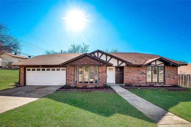 6332 Fountain Street, North Richland Hills, TX 76180 (MLS #14234508) :: Tenesha Lusk Realty Group