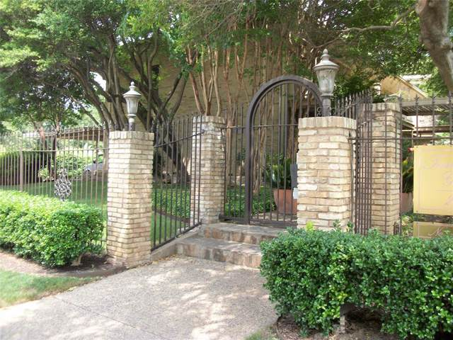 2525 Turtle Creek Boulevard 202D, Dallas, TX 75219 (MLS #14234533) :: The Good Home Team