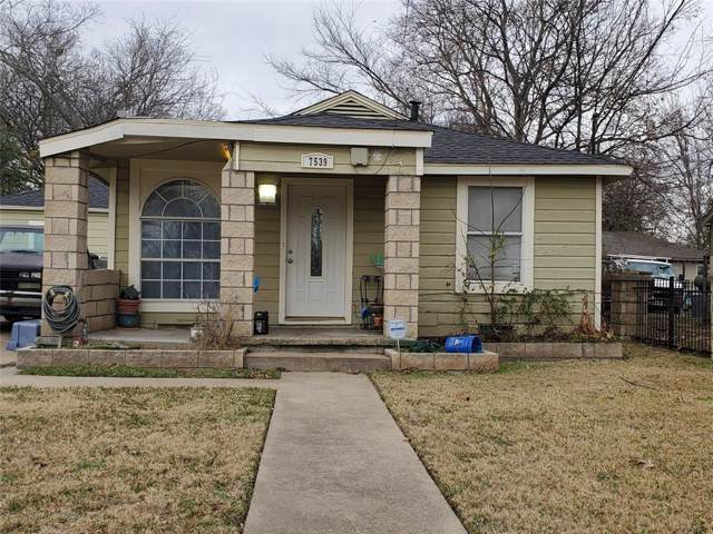 7539 Red Bud Drive, Dallas, TX 75227 (MLS #14234760) :: The Kimberly Davis Group
