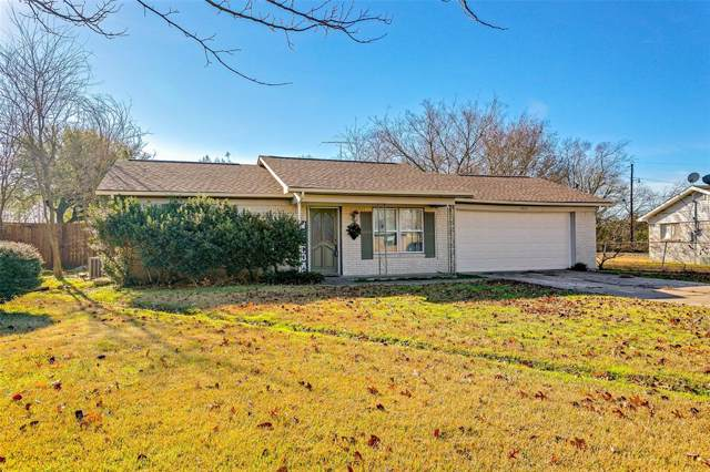 3413 Highmeadow Lane, Greenville, TX 75402 (MLS #14234762) :: RE/MAX Town & Country