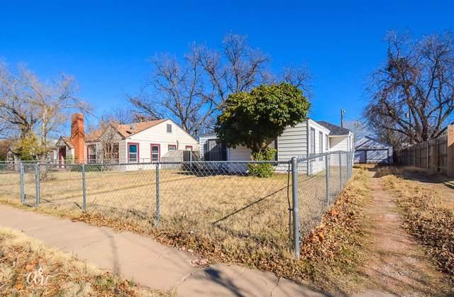 1833 Chestnut Street, Abilene, TX 79602 (MLS #14234912) :: RE/MAX Town & Country