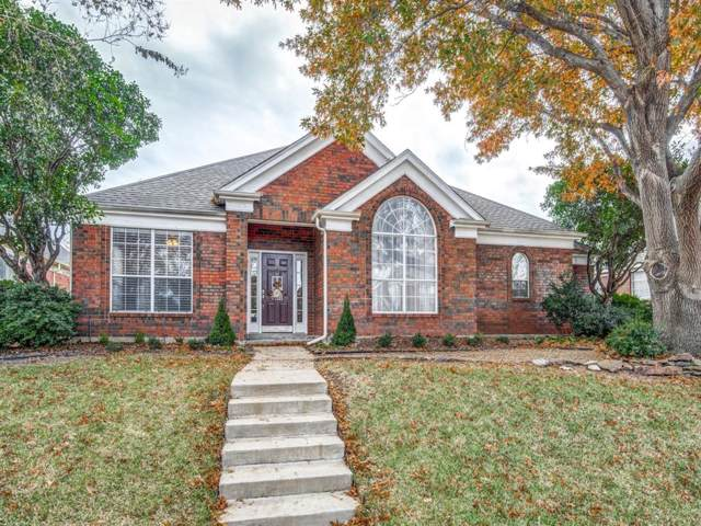 10505 Napa Valley Drive, Frisco, TX 75035 (MLS #14234932) :: RE/MAX Town & Country