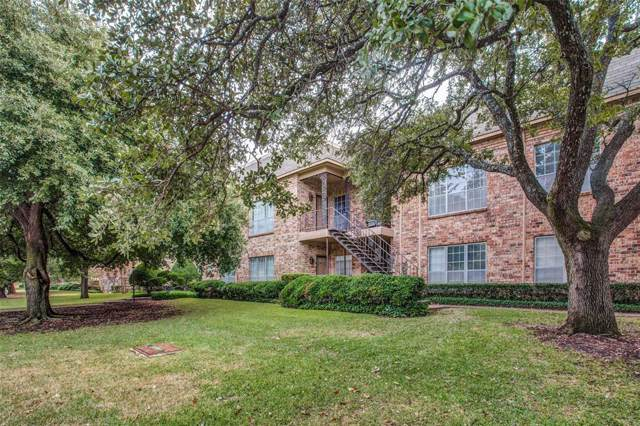 4347 Bellaire Drive S #232, Fort Worth, TX 76109 (MLS #14234956) :: The Hornburg Real Estate Group
