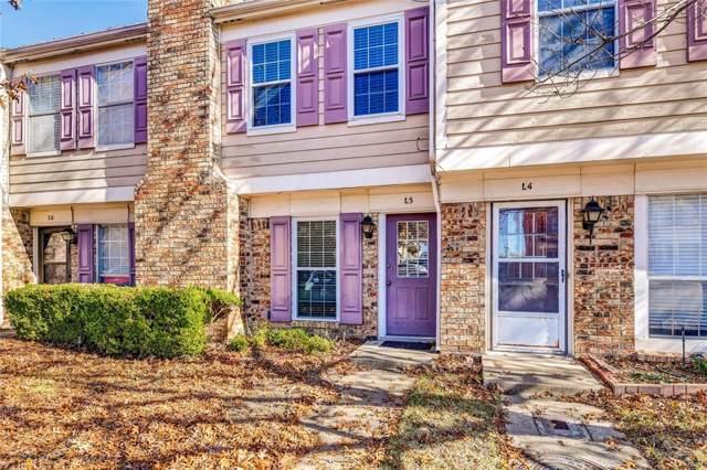 645 Carriagehouse Lane #5, Garland, TX 75040 (MLS #14235049) :: Van Poole Properties Group