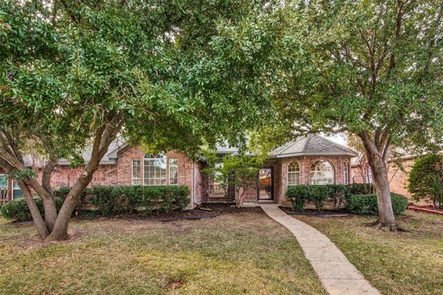 1674 Shannon Drive, Lewisville, TX 75077 (MLS #14235162) :: Hargrove Realty Group