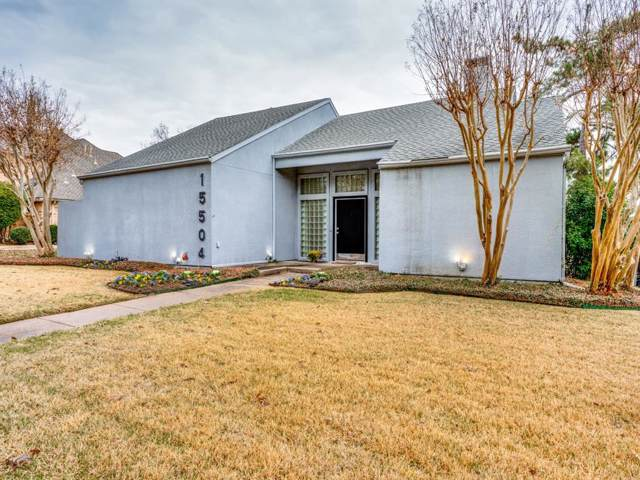 15504 Bay Point Drive, Dallas, TX 75248 (MLS #14235225) :: The Kimberly Davis Group