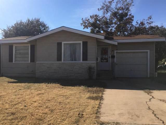 1218 S San Jose Drive, Abilene, TX 79605 (MLS #14235256) :: RE/MAX Town & Country