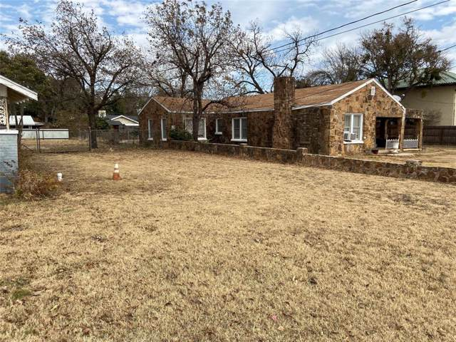 1502 W Walker Street, Breckenridge, TX 76424 (MLS #14235361) :: The Tonya Harbin Team