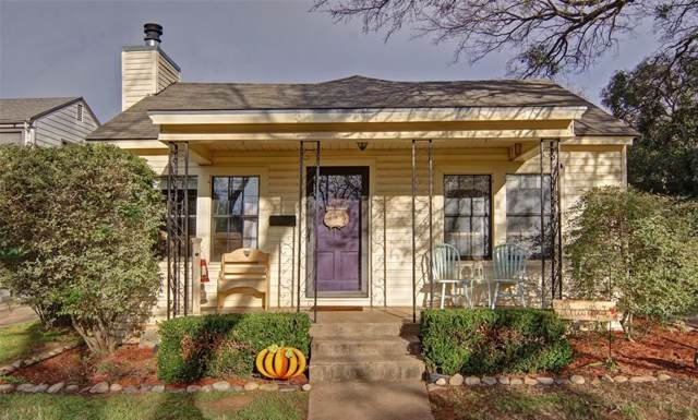 808 College Street, Cleburne, TX 76033 (MLS #14235416) :: The Rhodes Team