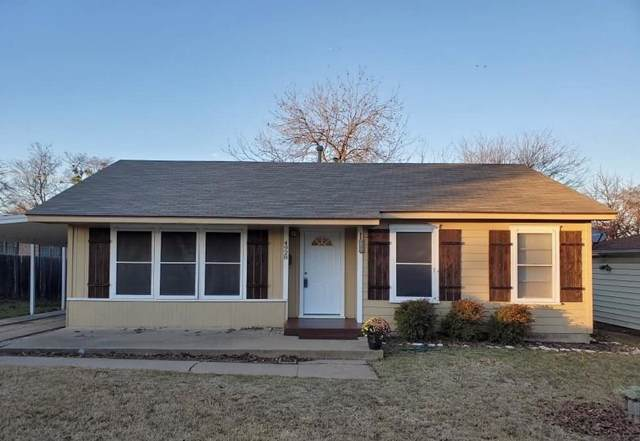 4928 Lovell Avenue, Fort Worth, TX 76107 (MLS #14235481) :: All Cities Realty