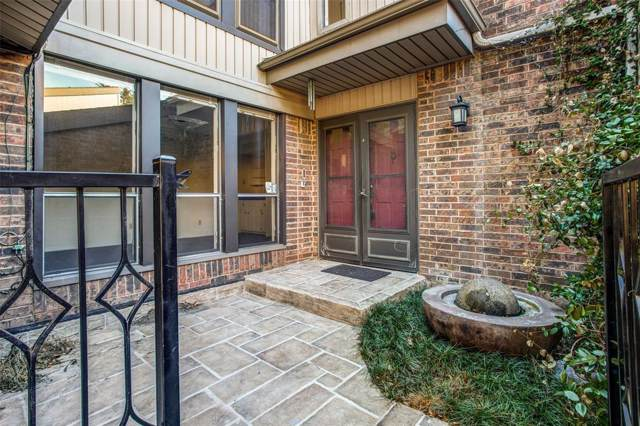12216 Montego Plaza, Dallas, TX 75230 (MLS #14235500) :: RE/MAX Town & Country