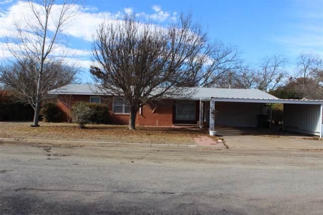 507 Rio Grande Street, Coleman, TX 76834 (MLS #14235547) :: Maegan Brest | Keller Williams Realty