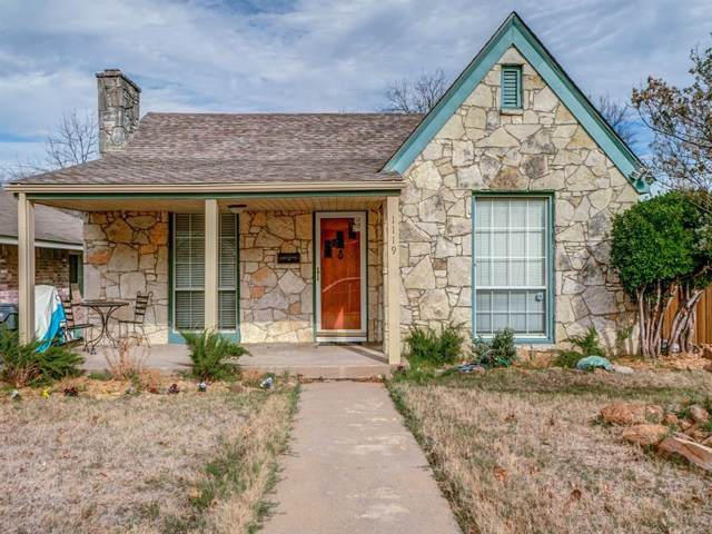1119 Cascade Avenue, Dallas, TX 75224 (MLS #14235574) :: The Kimberly Davis Group