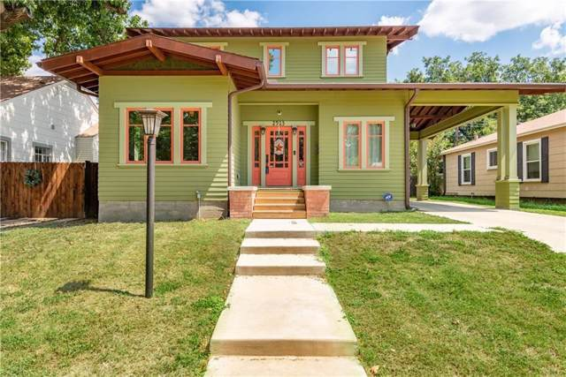 2913 Willing Avenue, Fort Worth, TX 76110 (MLS #14235731) :: RE/MAX Town & Country