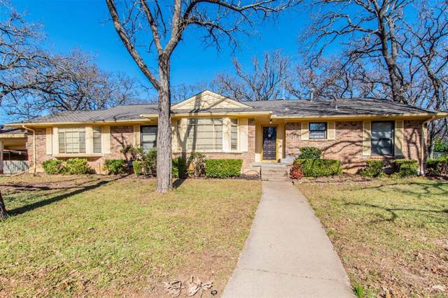 1813 Williamsburg Row, Denton, TX 76209 (MLS #14235765) :: The Kimberly Davis Group