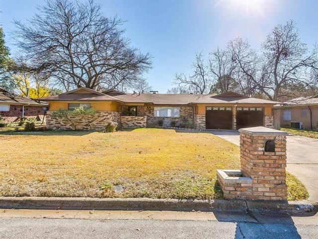 617 Woodside Drive, Hurst, TX 76053 (MLS #14235789) :: RE/MAX Pinnacle Group REALTORS