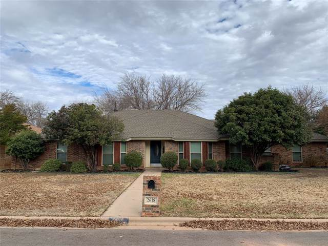 2618 Meadow Lake Drive, Abilene, TX 79606 (MLS #14235834) :: RE/MAX Town & Country